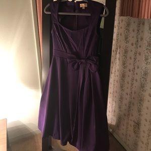 Purple Lindy Bop swing dress! Brand new!